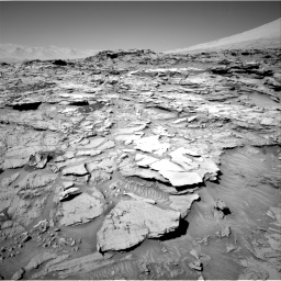 Nasa's Mars rover Curiosity acquired this image using its Right Navigation Camera on Sol 1316, at drive 568, site number 54