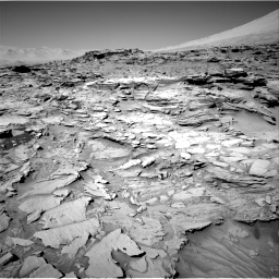 Nasa's Mars rover Curiosity acquired this image using its Right Navigation Camera on Sol 1316, at drive 586, site number 54