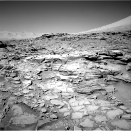 Nasa's Mars rover Curiosity acquired this image using its Right Navigation Camera on Sol 1316, at drive 598, site number 54