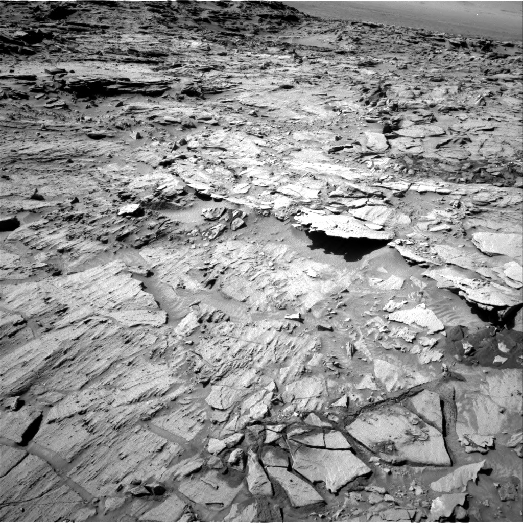 Nasa's Mars rover Curiosity acquired this image using its Right Navigation Camera on Sol 1316, at drive 622, site number 54