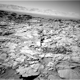 Nasa's Mars rover Curiosity acquired this image using its Right Navigation Camera on Sol 1316, at drive 634, site number 54