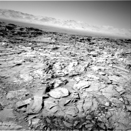 Nasa's Mars rover Curiosity acquired this image using its Right Navigation Camera on Sol 1316, at drive 646, site number 54