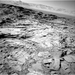 Nasa's Mars rover Curiosity acquired this image using its Right Navigation Camera on Sol 1316, at drive 652, site number 54
