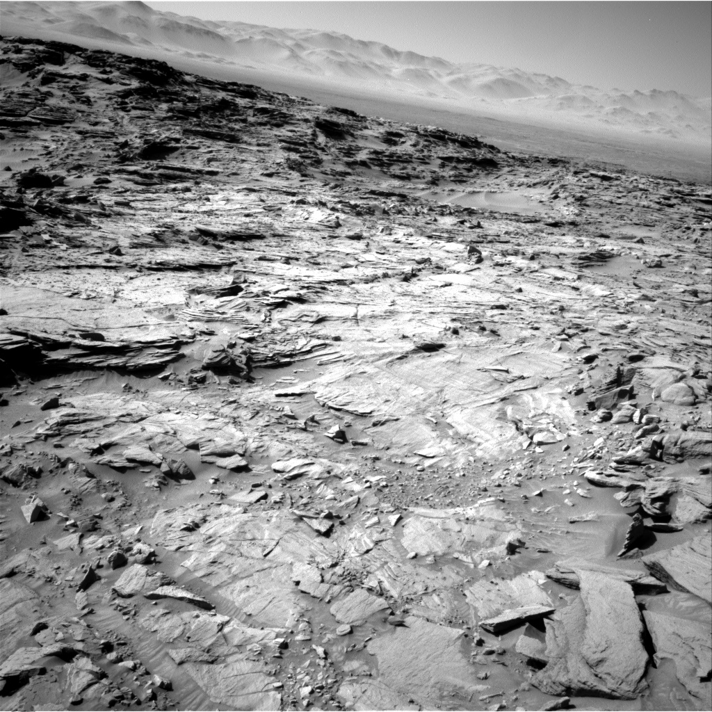 Nasa's Mars rover Curiosity acquired this image using its Right Navigation Camera on Sol 1316, at drive 668, site number 54