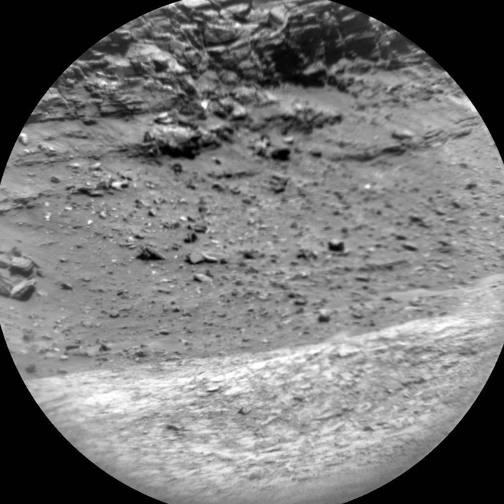Nasa's Mars rover Curiosity acquired this image using its Chemistry & Camera (ChemCam) on Sol 1316, at drive 412, site number 54