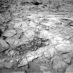 Nasa's Mars rover Curiosity acquired this image using its Left Navigation Camera on Sol 1317, at drive 668, site number 54