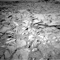 Nasa's Mars rover Curiosity acquired this image using its Left Navigation Camera on Sol 1317, at drive 734, site number 54