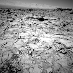 Nasa's Mars rover Curiosity acquired this image using its Right Navigation Camera on Sol 1317, at drive 680, site number 54