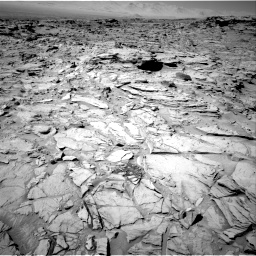 Nasa's Mars rover Curiosity acquired this image using its Right Navigation Camera on Sol 1317, at drive 686, site number 54
