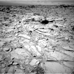 Nasa's Mars rover Curiosity acquired this image using its Right Navigation Camera on Sol 1317, at drive 692, site number 54