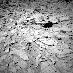 Nasa's Mars rover Curiosity acquired this image using its Right Navigation Camera on Sol 1317, at drive 704, site number 54