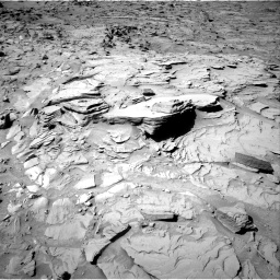 Nasa's Mars rover Curiosity acquired this image using its Right Navigation Camera on Sol 1317, at drive 722, site number 54