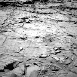 Nasa's Mars rover Curiosity acquired this image using its Right Navigation Camera on Sol 1317, at drive 734, site number 54