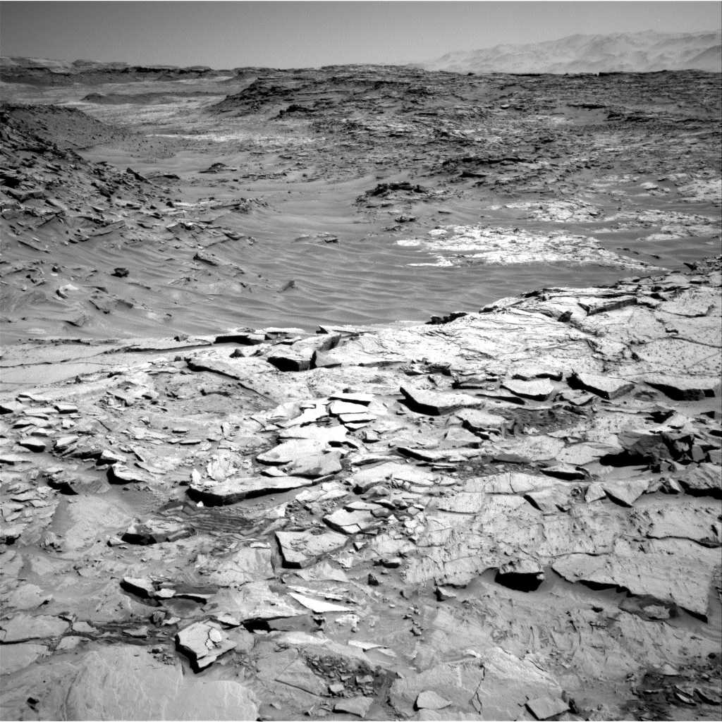 Nasa's Mars rover Curiosity acquired this image using its Right Navigation Camera on Sol 1317, at drive 746, site number 54