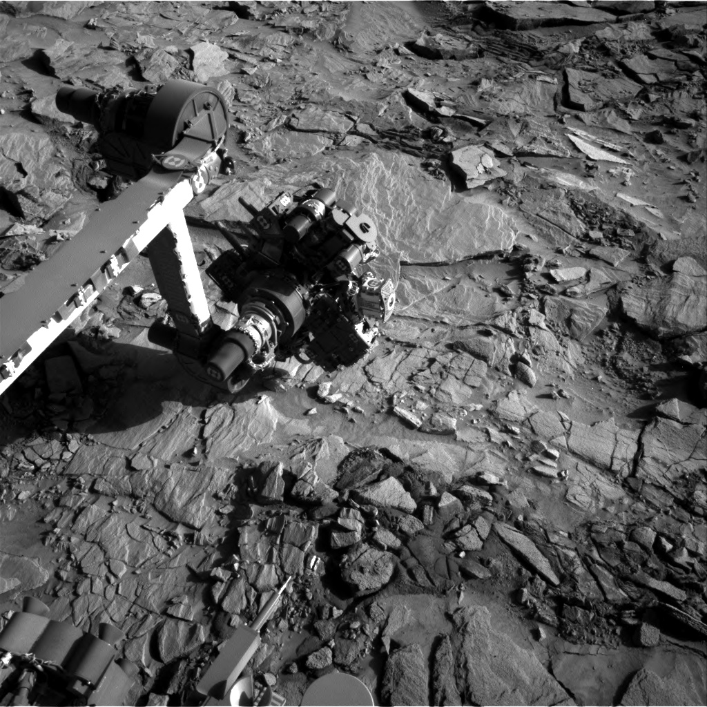 Nasa's Mars rover Curiosity acquired this image using its Right Navigation Camera on Sol 1318, at drive 746, site number 54