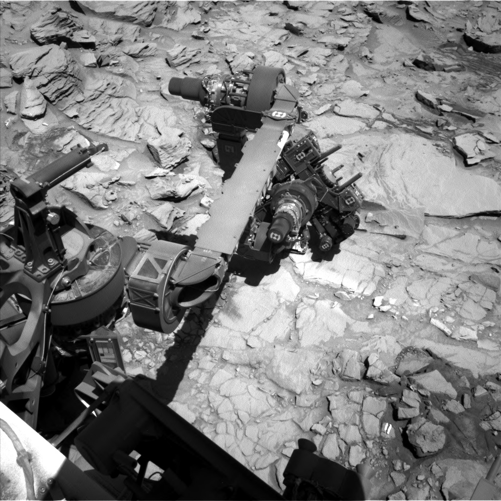 Nasa's Mars rover Curiosity acquired this image using its Left Navigation Camera on Sol 1319, at drive 746, site number 54