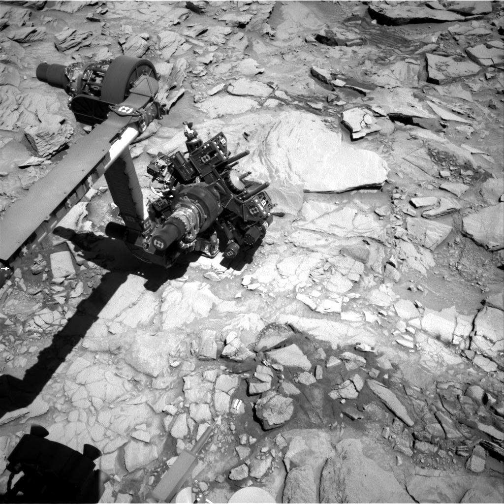 Nasa's Mars rover Curiosity acquired this image using its Right Navigation Camera on Sol 1319, at drive 746, site number 54