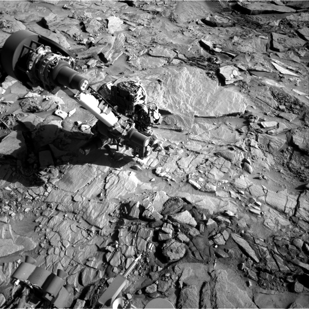 Nasa's Mars rover Curiosity acquired this image using its Right Navigation Camera on Sol 1320, at drive 746, site number 54