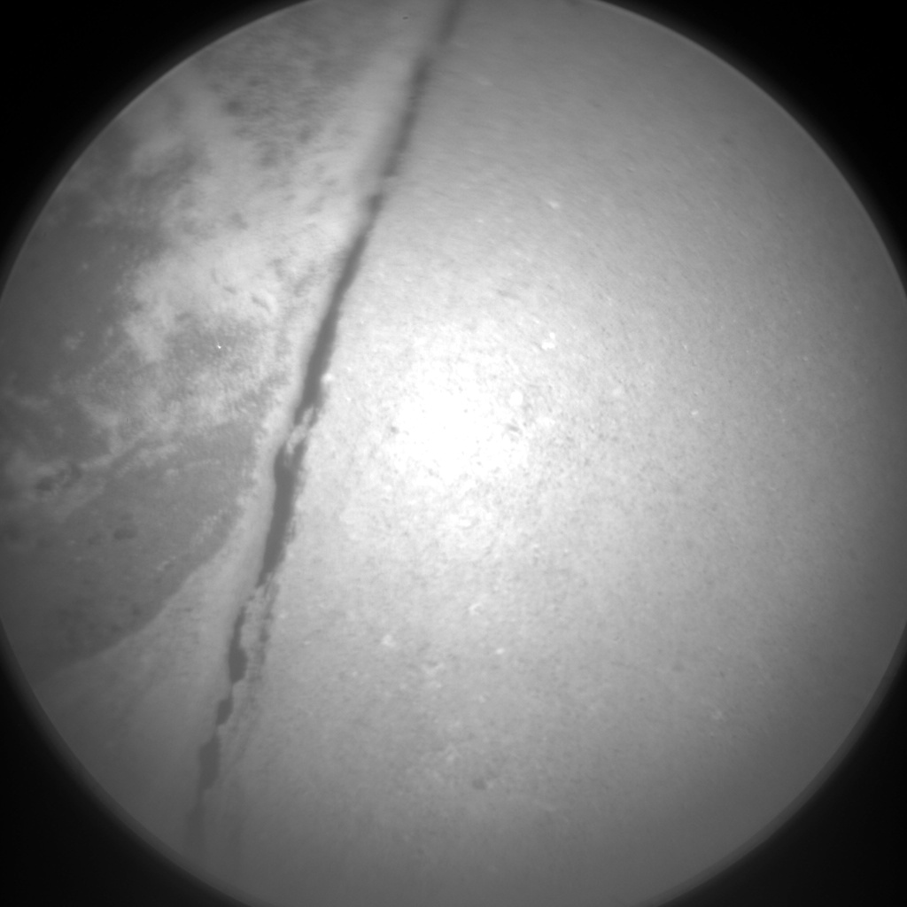 Nasa's Mars rover Curiosity acquired this image using its Chemistry & Camera (ChemCam) on Sol 1321, at drive 746, site number 54