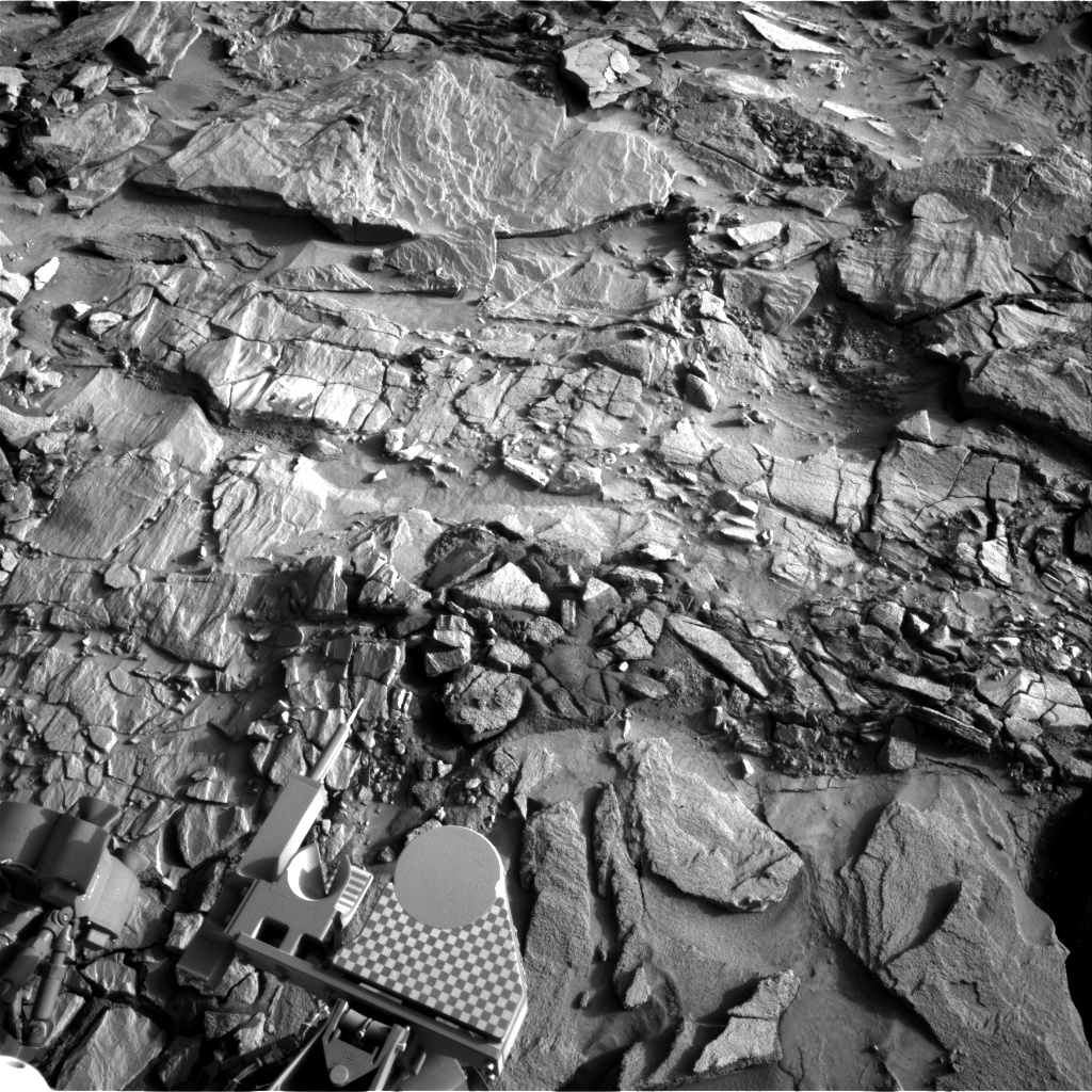 Nasa's Mars rover Curiosity acquired this image using its Right Navigation Camera on Sol 1321, at drive 746, site number 54