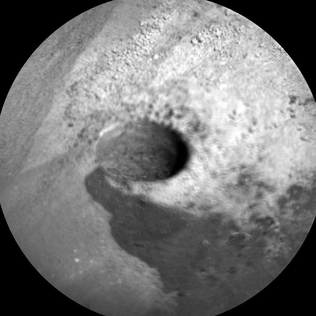 Nasa's Mars rover Curiosity acquired this image using its Chemistry & Camera (ChemCam) on Sol 1323, at drive 746, site number 54