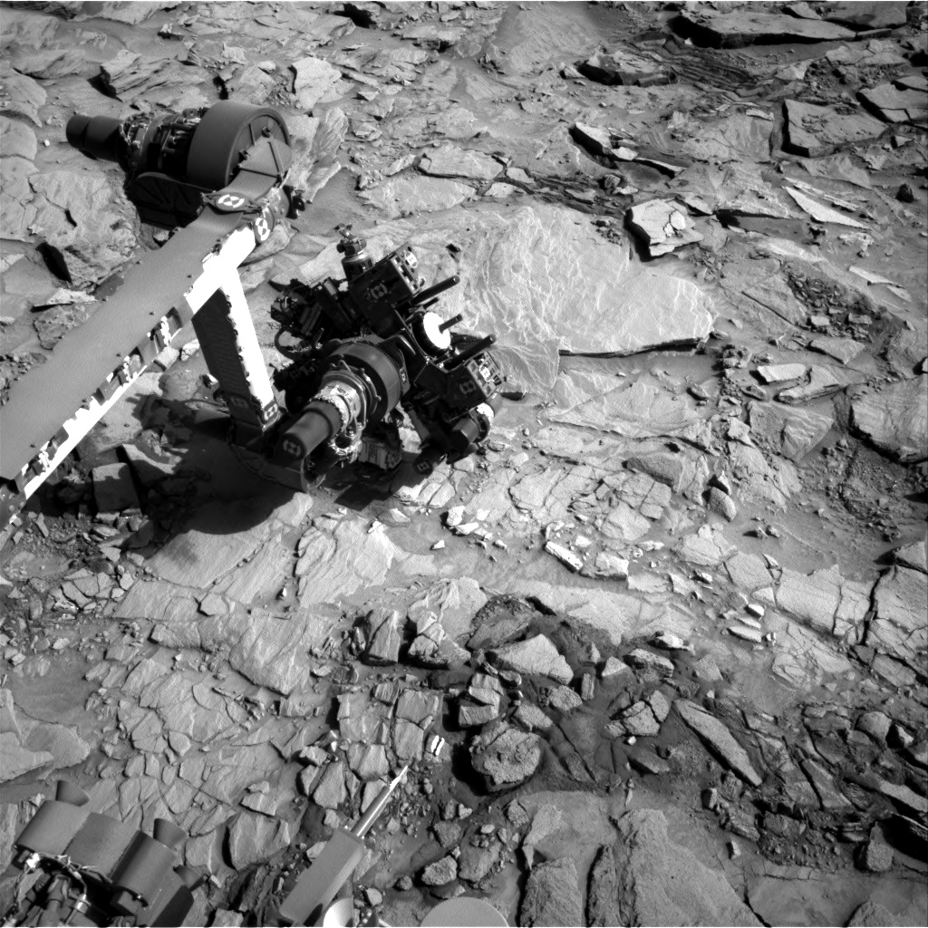 Nasa's Mars rover Curiosity acquired this image using its Right Navigation Camera on Sol 1325, at drive 746, site number 54