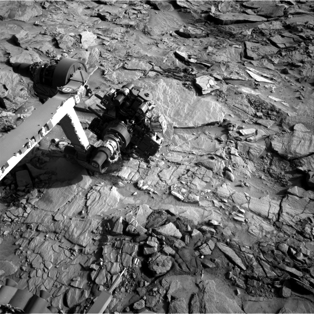 Nasa's Mars rover Curiosity acquired this image using its Right Navigation Camera on Sol 1326, at drive 746, site number 54