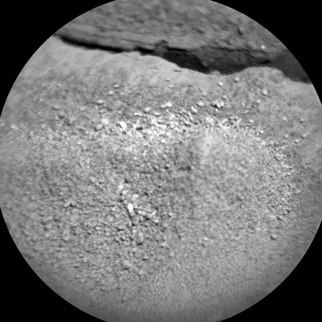 Nasa's Mars rover Curiosity acquired this image using its Chemistry & Camera (ChemCam) on Sol 1326, at drive 746, site number 54