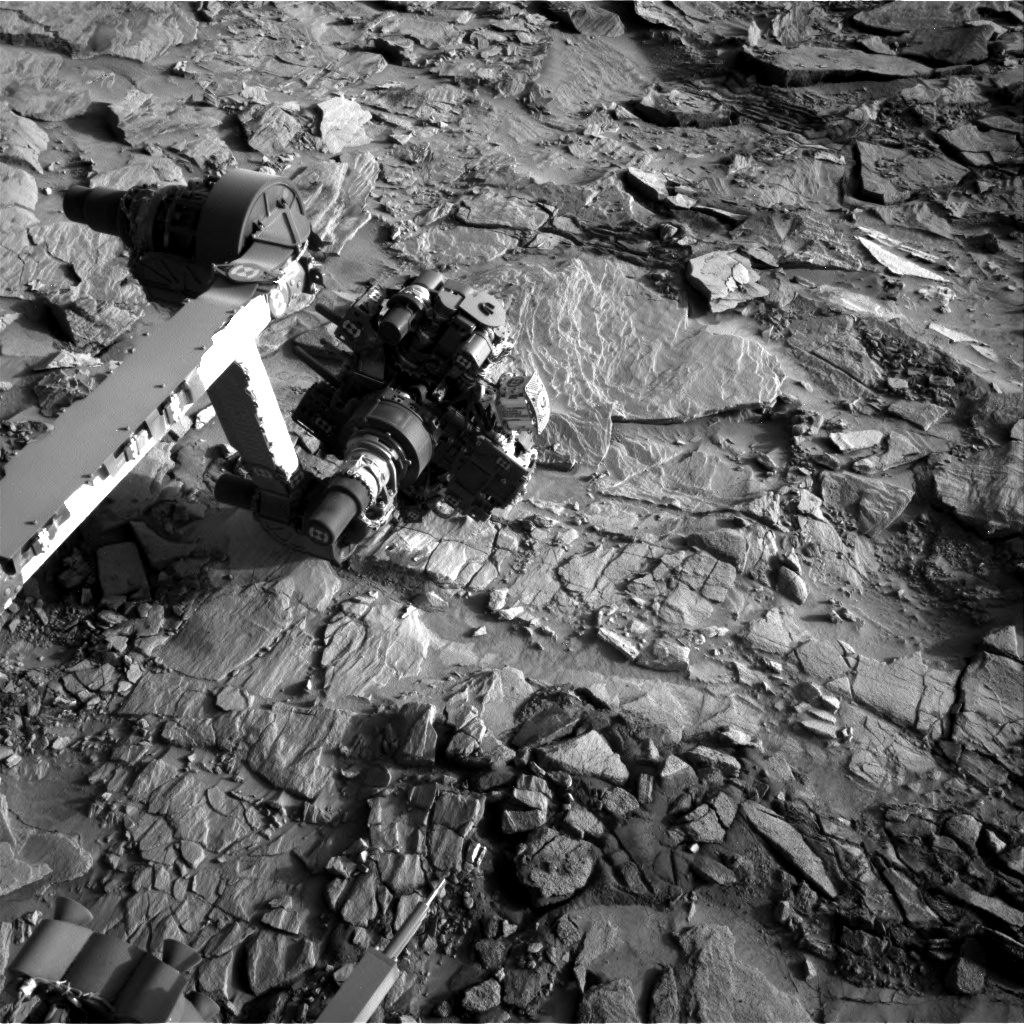 Nasa's Mars rover Curiosity acquired this image using its Right Navigation Camera on Sol 1327, at drive 746, site number 54
