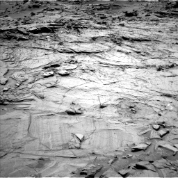 Nasa's Mars rover Curiosity acquired this image using its Left Navigation Camera on Sol 1329, at drive 776, site number 54