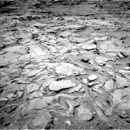 Nasa's Mars rover Curiosity acquired this image using its Left Navigation Camera on Sol 1329, at drive 788, site number 54