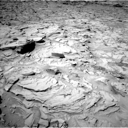 Nasa's Mars rover Curiosity acquired this image using its Left Navigation Camera on Sol 1329, at drive 836, site number 54