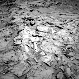 Nasa's Mars rover Curiosity acquired this image using its Left Navigation Camera on Sol 1329, at drive 854, site number 54