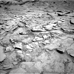 Nasa's Mars rover Curiosity acquired this image using its Left Navigation Camera on Sol 1329, at drive 872, site number 54