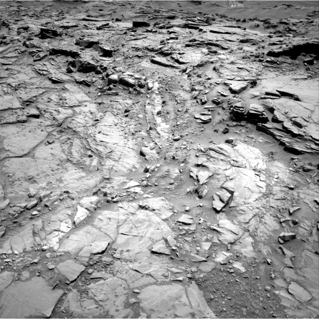 Nasa's Mars rover Curiosity acquired this image using its Right Navigation Camera on Sol 1329, at drive 746, site number 54