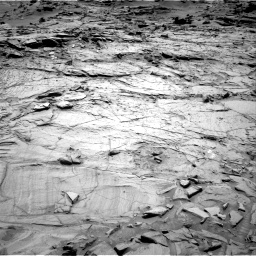 Nasa's Mars rover Curiosity acquired this image using its Right Navigation Camera on Sol 1329, at drive 776, site number 54