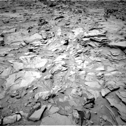 Nasa's Mars rover Curiosity acquired this image using its Right Navigation Camera on Sol 1329, at drive 800, site number 54