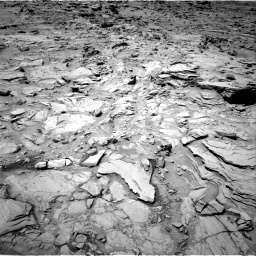 Nasa's Mars rover Curiosity acquired this image using its Right Navigation Camera on Sol 1329, at drive 806, site number 54