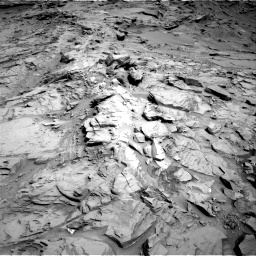 Nasa's Mars rover Curiosity acquired this image using its Right Navigation Camera on Sol 1329, at drive 848, site number 54