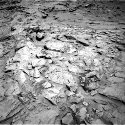 Nasa's Mars rover Curiosity acquired this image using its Right Navigation Camera on Sol 1329, at drive 854, site number 54