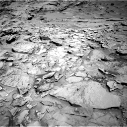 Nasa's Mars rover Curiosity acquired this image using its Right Navigation Camera on Sol 1329, at drive 860, site number 54
