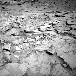Nasa's Mars rover Curiosity acquired this image using its Right Navigation Camera on Sol 1329, at drive 872, site number 54