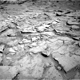 Nasa's Mars rover Curiosity acquired this image using its Right Navigation Camera on Sol 1329, at drive 878, site number 54