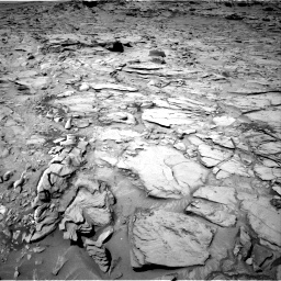 Nasa's Mars rover Curiosity acquired this image using its Right Navigation Camera on Sol 1329, at drive 884, site number 54