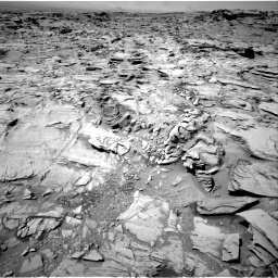 Nasa's Mars rover Curiosity acquired this image using its Right Navigation Camera on Sol 1329, at drive 914, site number 54