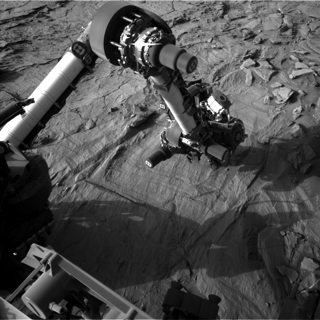 NASA's Mars rover Curiosity acquired this image using its Left Navigation Camera (Navcams) on Sol 1330