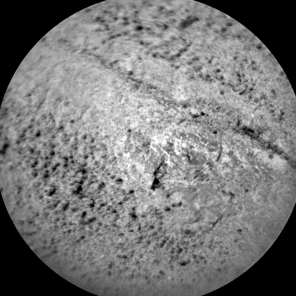 Nasa's Mars rover Curiosity acquired this image using its Chemistry & Camera (ChemCam) on Sol 1331, at drive 938, site number 54