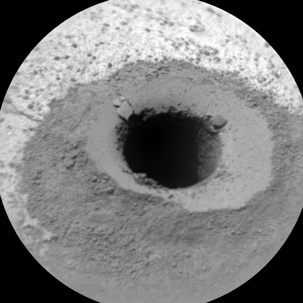 Nasa's Mars rover Curiosity acquired this image using its Chemistry & Camera (ChemCam) on Sol 1334, at drive 938, site number 54