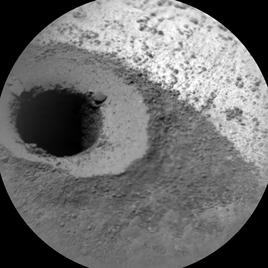 Nasa's Mars rover Curiosity acquired this image using its Chemistry & Camera (ChemCam) on Sol 1336, at drive 938, site number 54
