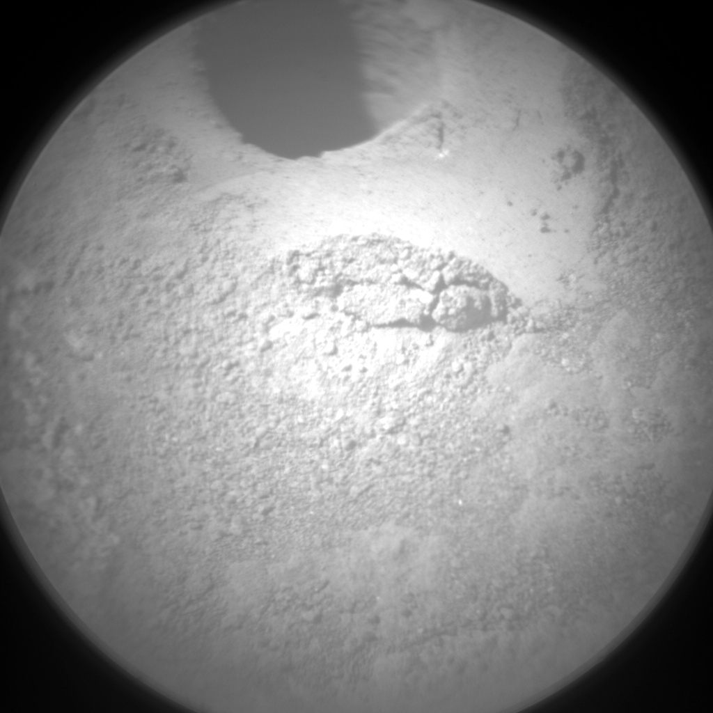 Nasa's Mars rover Curiosity acquired this image using its Chemistry & Camera (ChemCam) on Sol 1338, at drive 938, site number 54